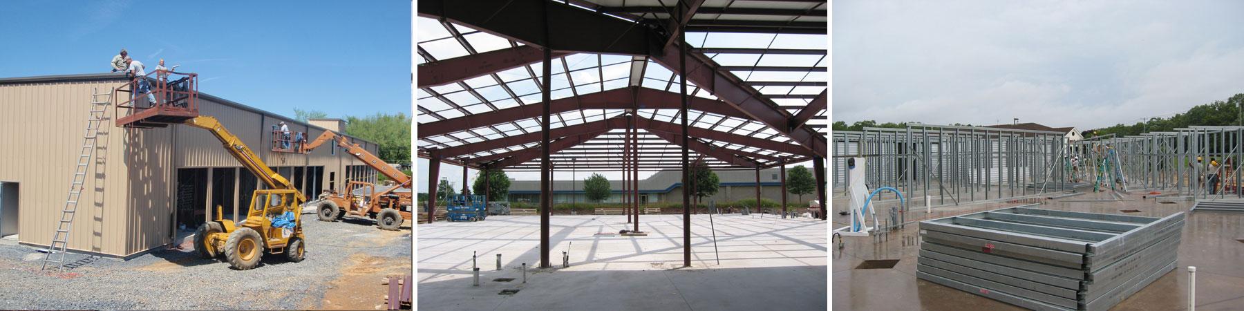 Erection Services - Metal Buildings