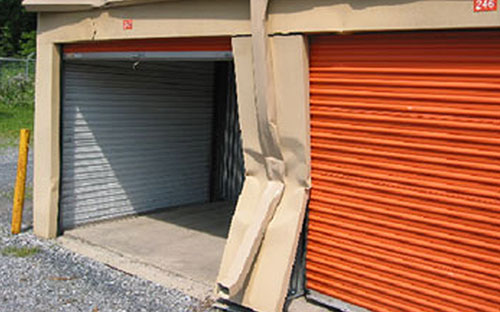 Metal Building Repairs - Self Storage