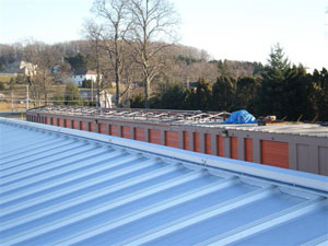 METAL BUILDING RE-ROOFING - Before