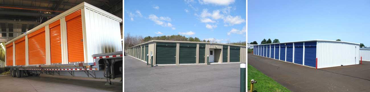 Single Story Self Storage Buildings